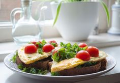 Easy to make, great taste! Kale with eggs and tomatoes.