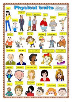Physical description. worksheet - Free ESL printable worksheets made by teachers
