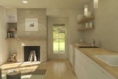 Plan #914-2 Interior - by Quiet Leap Designs LLC