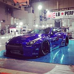 """@superstreet's photo: """"You be killin' em! Liberty Walk does it again with this GT-R set to unveil at Tokyo Auto Salon this Friday. #superstreet #libertywalk #lbworks #toyotires #toyo #rotiform #nissan #gtr #r35 #tokyoautosalon #tas2014"""""""