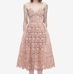 Cheap New Fashion 2018 Designer Runway delle donne Vestito Sexy Della  Cinghia di Spaghetti Del Merletto 07abba9f5fd
