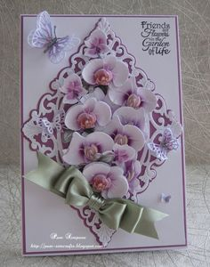 Distinctive Gifts Mean Long Lasting Recollections Fresco Collection Tattered Lace Dies. Tattered Lace Cards, Spellbinders Cards, Fancy Fold Cards, Beautiful Handmade Cards, Die Cut Cards, Marianne Design, Mothers Day Cards, Heartfelt Creations, Card Sketches