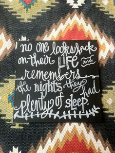 8x8 quote on canvas by fortheloveoletters on Etsy, $10.00