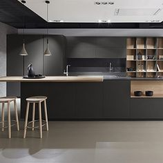 10 Inspiring Modern Kitchen Designs – My Life Spot Distressed Kitchen Cabinets, Modern Kitchen Cabinets, Kitchen Dinning, Kitchen Cabinet Design, Home Decor Kitchen, Kitchen Interior, Modern Home Interior Design, Modern Kitchen Design, Küchen Design