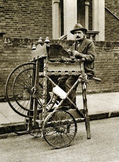 London in the 1920's-street knife grinder | Flickr - Photo Sharing!