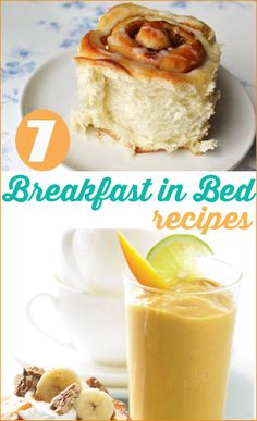 Breakfast In Bed.  Start Mother's Day out right by spoiling her with these delicious breakfast recipes.  Great ideas for brunch or breakfast with the family.