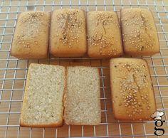 Panecillos sin gluten (solo con harina de arroz)