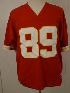 5937191f40943 Available for your consideration is a pre-owned Logo 7 Kansas City Chiefs  Andre Rison Adult NFL Jersey. The jersey is an adult size Extra Large (XL),  ...
