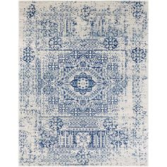 Andover Blue/Beige Area Rug