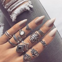 """can't get enough of @indigo_lune rings """