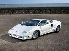 European Cars… 1988 UK Lamborghini Countach