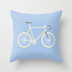 #97 bike Throw Pillow by MNML Thing - $20.00