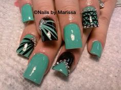 Liking that green for St. Pattys day but not the designs...