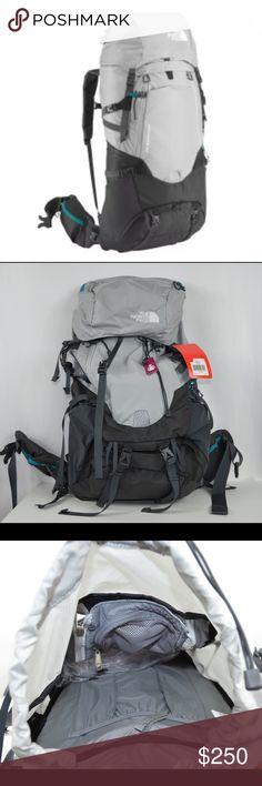 New north face women conness 52 hiking backpack A women-specific technical pack from The North Face with the comfort and capacity for your long weekends, the women's Conness 52 Backpack capitalizes on Opti-Fit X technology to provide that balance of ventilation and load control you've been seeking. This top loader has a supplemental panel zip opening for quick access to key gear and a dedicated sleeping bag compartment with a separate entry. A removable lid converts to a lumbar pack. The…