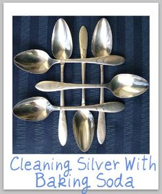 1000 images about cleaning silver on pinterest cleaning for How to clean jewelry with baking soda