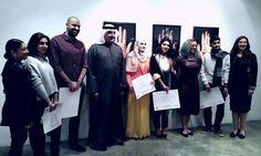 Photo Credit: @artbahrain   Rashid Al Khalifa awarded certificates to the winners and finalists of artBahrain's Annual Art Prize at Al Riwaq Art Space. #artbahrain #art #bahrain #uae #qatar #kuwait #oman #saudi #gcc #gccart #menaart #artworld #weareartbahrain #therealartbahrain #alriwaq #thenest #abannualartprize