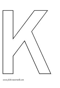 Lettre de l 39 alphabet d corer affichage alphabet s alphabet et lettering - Lettres de l alphabet a decorer ...