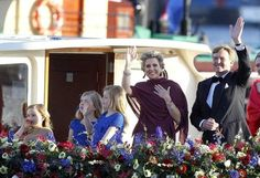 30th April 2013, inauguration of King Willem-Alexander I and Queen Máxima.
