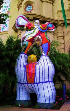 Nikki de St. Phalle, The Poet and the Muse Balboa Park