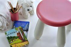 Műanyag bútor átfestés, IKEA mammut hack - Masni / How to repaint easy an IKEA Mammut kid stool with Novasol Paint Spray DIY