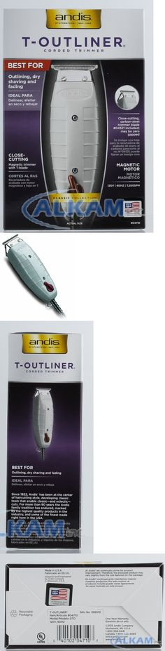 Clippers and Trimmers: Andis T-Outliner 04710 Professional Trimmer Barber, Salon Hair Cut, Clippers New -> BUY IT NOW ONLY: $53.75 on eBay!