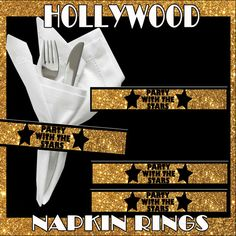 Hey, I found this really awesome Etsy listing at https://www.etsy.com/listing/215347282/printable-diy-hollywood-party-napkin
