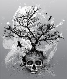 Image detail for -tattoo me now tattoo fever search for blog skull grunge