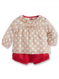 Ensemble blouse et short