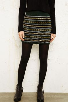 Sweater Skirt in by Urban Outfitters