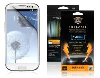 Buff Armor Samsung Galaxy S3 III i9300 Front Screen Protector Scratch Guard Antishock AntiScratch Tough