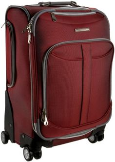 Olympia Luggage Blossom 21 Inch Expandable Hard Case Carry-On Bag ...