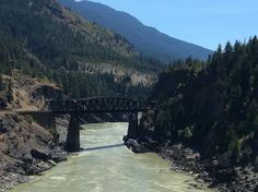 The Cisco Crossings of CN and CP rail lines in British Columbia! #Canada @RMountaineer