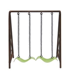 Fairy Garden Metal Leaf Swing