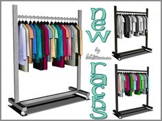New Racks (EA Makeover) by Waterwoman