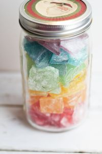 Rock candy is a tradition in my family to have every Christmas. This recipe is simple, makes a rather small batch, and works with any flavored oil.
