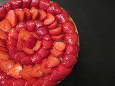 Tarte aux fraises et sa crème mousseline