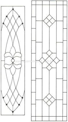 Image result for leaded glass patterns
