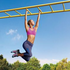 Bust out of a workout rut and put some play back in your fitness! Enjoy the fall weather when you get sweaty on a playground with these effective moves.