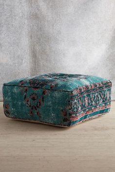 Alanya Ottoman at Anthropologie Anthropologie Home, Interior Decorating, Interior Design, Design Design, Floor Cushions, Bohemian Decor, Home Furniture, Ottoman Furniture, Modern Furniture