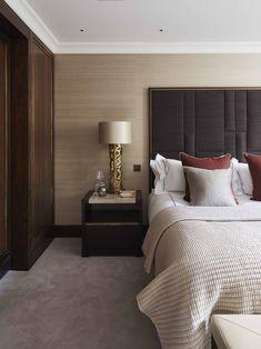 Master Bedroom London Pied A Terre Linley Interiors Interior
