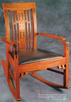 AW Extra - Greene and Greene Furniture Details - Popular Woodworking Magazine Craftsman Furniture, Wood Furniture, Furniture Design, Luxury Furniture, Modern Furniture, Mission Style Furniture, Arts And Crafts Furniture, Art And Craft Design, Craftsman Style Homes