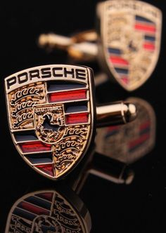 Porsche Cuff Links : But better than links for me is driving with the hood down in Palm Springs :) where the weather is gorgeous and I'm not the oldest walking or riding around the block!!!!