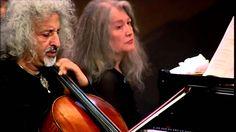 Grieg Cello Sonata in A-minor - M.Maisky, M. Argerich (1st Movement) - H..........  GREAT !!!