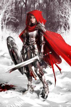 Red Riding Hood by Amanda Schank