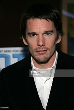 Ethan Hawke attends GIANT MAGAZINE Hosts the New York Special Screening of 'ASSAULT ON PRECINCT 13' at Clearview Chelsea West Cinemas on January 18, 2005 in New York City.