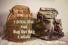 3 Critical Items Your Bug Out Bag is Missing | Home Ready Home | #prepbloggers #emergency