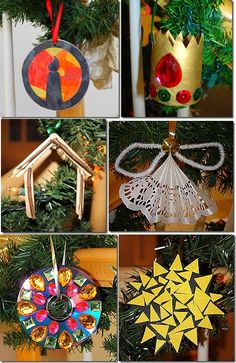 Idea # 1 for Crafternoon Crafts: Sat., Dec. 7th from 3-6 PM at Lake Forest Park Presbyterian Church. Would you be willing to be at a table to help kids make one of these? If so please email Cordelia@lfppc.org