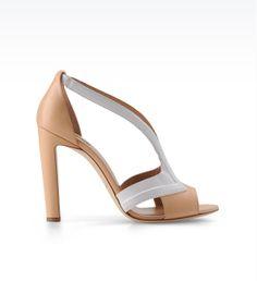 Des sandales architecturées