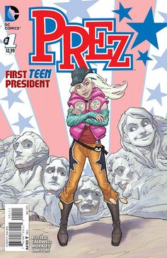 Weird Science: Prez #1 Preview | ^ https://de.pinterest.com/jimtonya1623/weird-science-dc-comic-previews/