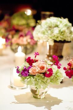 Pretty and relatively cheap flower arrangements